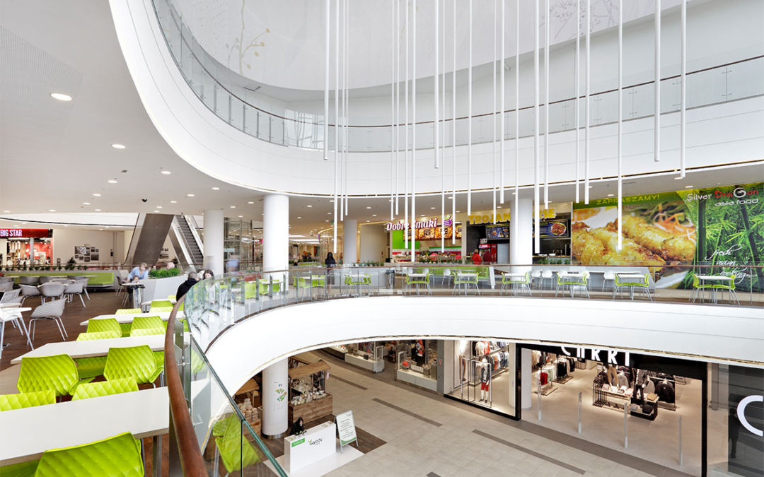 New stores available for the clients in remodelled part of Ogrody Shopping Center