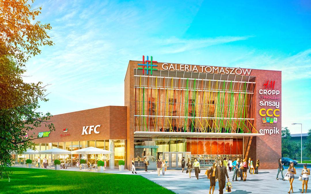 Acteeum we współpracy z Rockcastle Global Real Estate wybuduje galerię handlową w Tomaszowie Mazowieckim