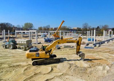 Budowa Galerii Chełm - maj 2019
