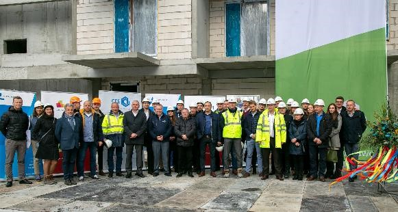 Topping out ceremony of the wolaRe residential project in Warsaw!