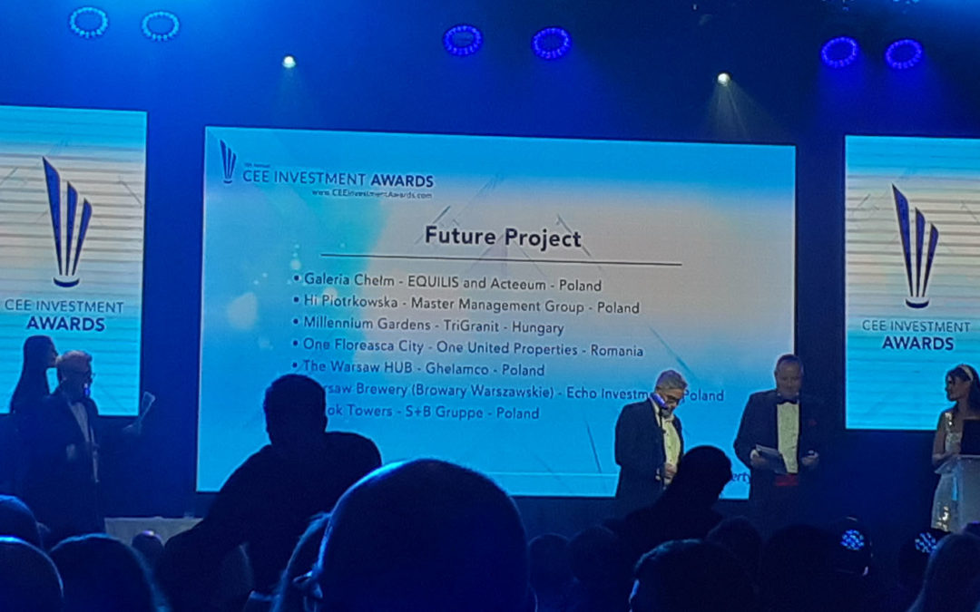 Galeria Chełm – Acteeum and Equilis joint project – nominated to the Future Project Award at EuropaProperty Gala