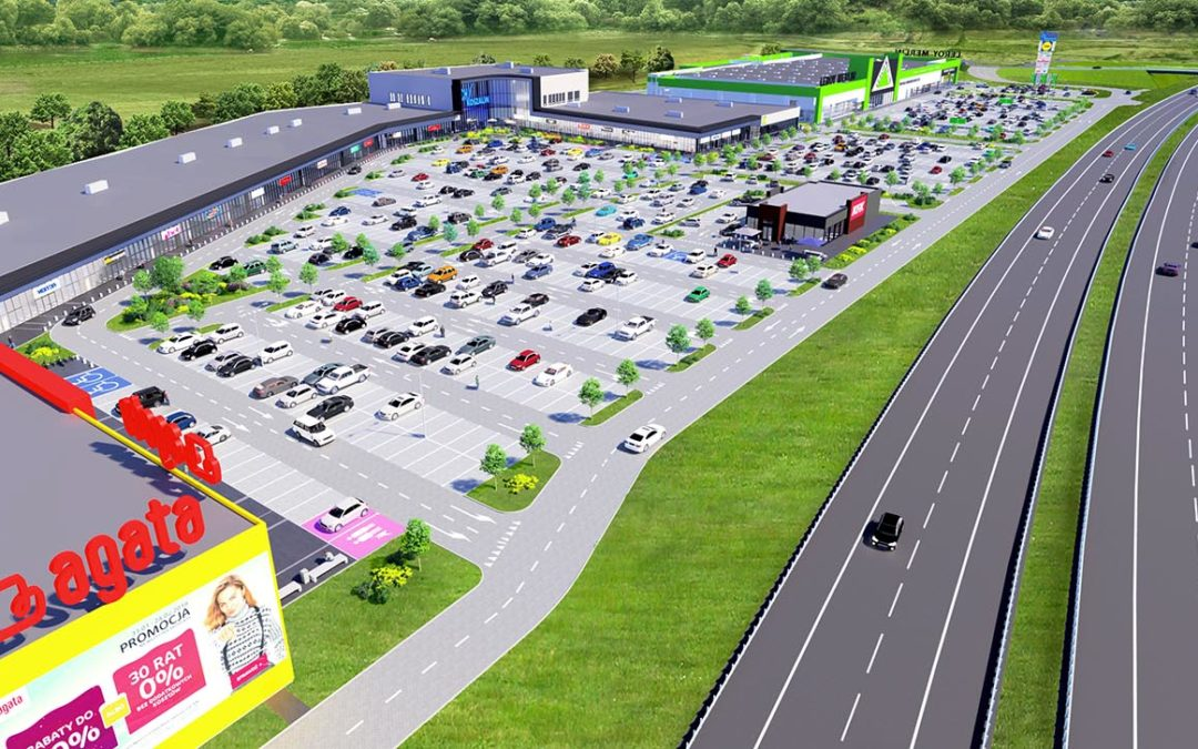 Koszalin Power Center – the regional shopping center grows strong!