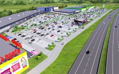 Acteeum regional retail park – Koszalin Power Center – attracts big brands
