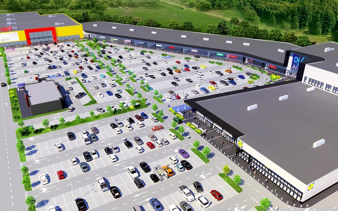 Lidl becoming the food anchor of the Acteeum regional Power Center in Koszalin