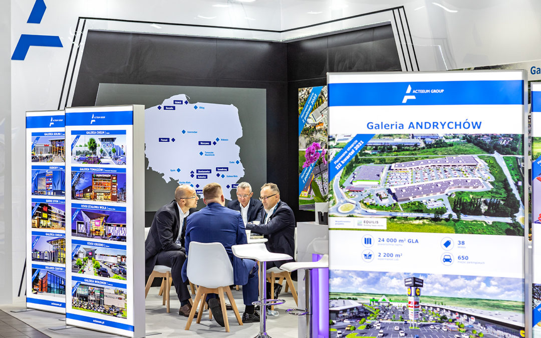 Koszalin Power Center przebojem Acteeum na targach Shopping Center Forum 2020