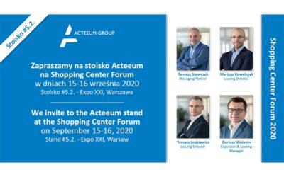 Zapraszamy na Shopping Center Forum 2020!