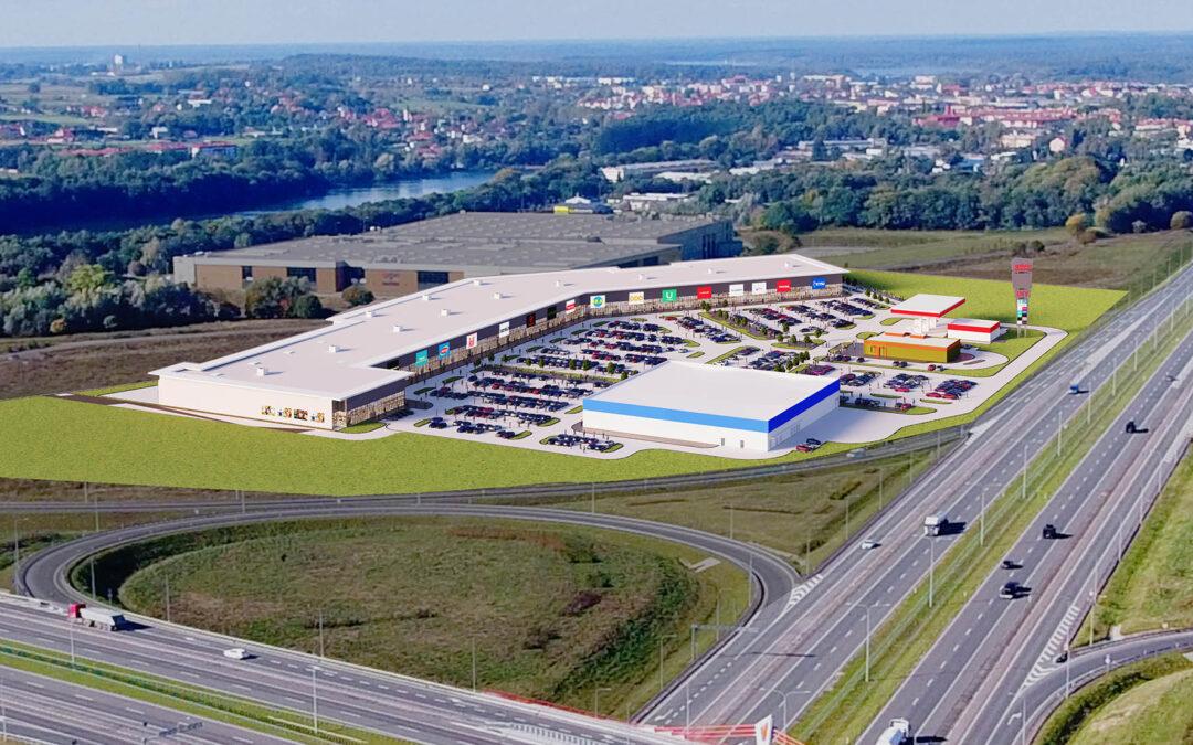 Acteeum prepares another retail park – Ostróda Power Center