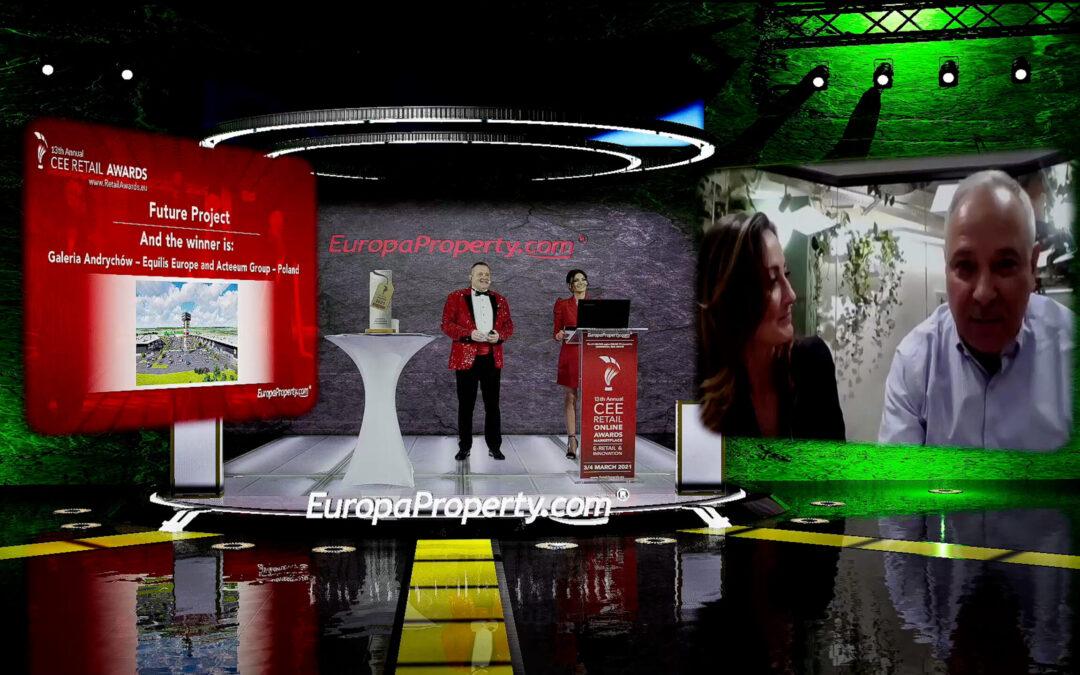Galeria Chełm i Galeria Andrychów wśród zwycięzców EuropaProperty CEE Reail Awards