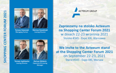 Acteeum at the Shopping Center Forum 2021